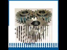 M2 20×20 Industrial Spur Gear Rack Cnc Steel Gear Rack