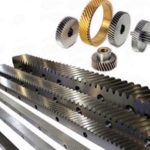 M2 5 Steel Helical Gear With Rack