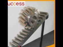 M4 1005mm*30mm*12mm Steel Gear Rack Steel Automatic Sliding Gate