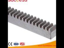 M4 22*22*1005 Hobbing Steel Gear Rack With Holes For Automatic Door Opener