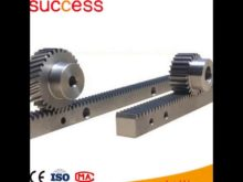 M4 Galvanized Gear Rack And Pinion For Sliding Gate