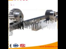M8 Helical Gear With Rack