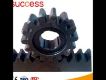 M8 Hoist Pinion / Construction Hoist Gear Rack