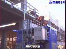 MABER CONSTRUCTION HOIST MB A 1400/150 AND MB A 2000/150