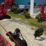Manitowoc 4100 dragline assembly