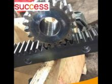 Material Precision Construction Hoist Gear Rack Gjj Passenger Hoist Gear Rack And Pinion