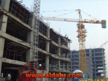 Max  Load 10 T Flat Top Tower Crane with CE ISO Certificate Qtz125p TC6015