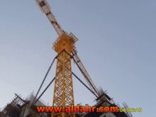 Max  Load 4t Inner Climbing Tower Crane Qtz50 5010