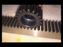 Metallic Gear Rack For Sliding Gates/Ruedas Para Portones Corredizos