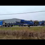 Miller Transfer Kenworth T800w with 3x3x3x3x3 pulling in