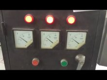 motor 380v/3phase switch into 220v/3phase testing video
