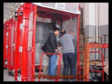 New Cheap Price Good Quality Double Cages Iso Ce Approved Building Hoist