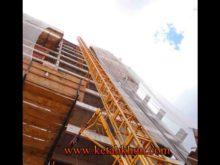 New Condition Double Cages Building Hoist Sc200/200