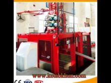 New Condition Sc200/200 Construction Hoist Building Lift In China