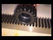 Nylon Gear Rack For Rolling Gate Operator