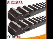 Nylon Sliding Steel Tooth Gear Rack