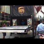 Opening the tailgate on David ragans car hauler