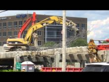 ORBP: demolishing clark memorial bridge approach ramp
