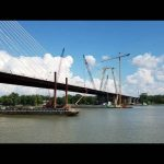 ORBP: East End Bridge final segment installed