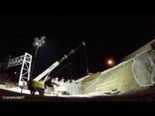 ORBP: I-65 S @ E Liberty st beam install timelapse