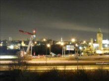 ORBP: Liebherr Ltm1400 installing beams on I-71/I-64 split