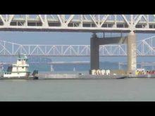 ORBP: pouring concrete on pier 4