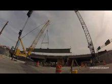 ORBP: Sterett Kobelco CK2500 girder install