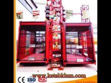 Passenger Hoist Capacity of 2 Tons of Industrial Building Elevator Sales