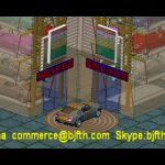 PLC Control Robotic Parking Solution Rotary Car Smart parking system