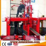 Popular Design Sc100 Single Cage Lift For Construction Materials