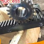 Precision Large Stainless Steel Spur Gear