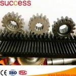 Precisoin Custom Machining Steel Small Gear Rack And Pinion Modules1~Modules10
