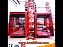 Rack and Pinion Construction Hoist for Lifting Passengers, Materials