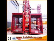 Rack And Pinion Hoisting Construction Tower Crane