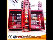 Rack And Pinion Lift Building Hoist Sc200/200 For Material And Passengers