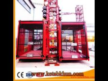 Rack and Pinion Mechanical Construction Equipment Ce Elevator Construction Equipment Industry