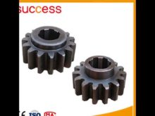 Rack Gear Construction Machinery Spare Parts Supply Customized