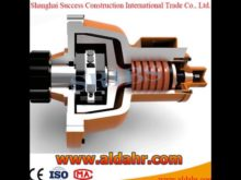 Reverse Brake Anti Fall Safety Device for Construction Hoist