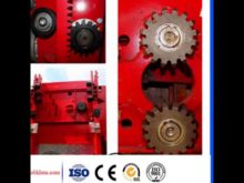 Rotating Mechanism Pinion Gears Ring Gears For Concrete Mixer & Crown Gear Wheels