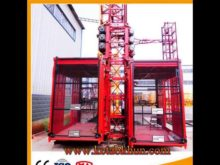 Safety and High Level Elevator Construction Equipment and High Level Crane Lifts
