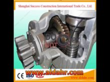 Safety Device for Rack and Pinion Elevator Constrictuon Hoist