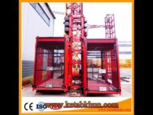 Sc 200 Builder′s Hoist with 650mm Section for Container