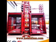Sc Series Construction Elevator Lifting Hoist Construction Equipment Industry