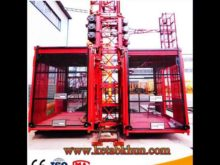 Sc Series Rack and Pinion Construction Hoist for Building and Passingers
