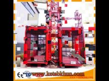 Sc100 1000kg Wire Rope Electric Hosit
