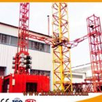 Sc200 2 Ton Double Cages Construction Elevator