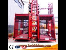 Sc200/200  2000kg Ce,Gost Approved 2 Ton Construction Elevator, Construction Hoist For Sale