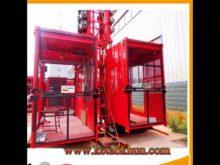 Sc200/200 2t 4t Construction Hoist Lift,Construction Hoist,2t Double Cage Working Platform Lifts