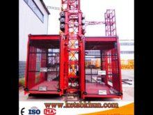 Sc200/200 2t 4t Construction Hoist Lifter And Eletric Construction Elevator