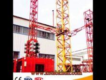 Sc200/200 2t Construction Hoist With Ce Certification